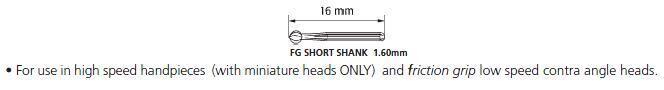 Short Shank Carbide Burs