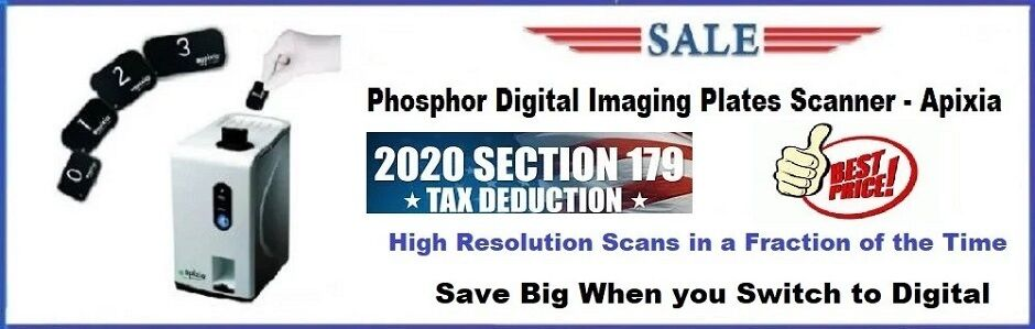 Digital Scanner Imaging Plate - Apixia