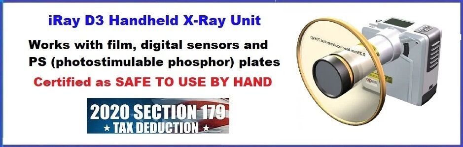 IRay D3 Handheld X-Ray Unit