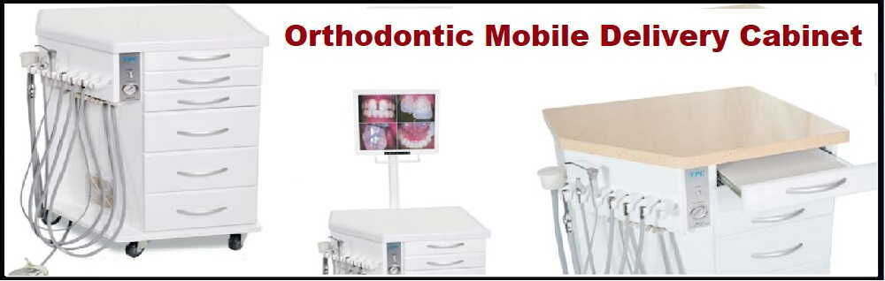 Orthodontic Mobile Delivery Cabinet