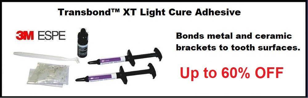 Transbond XT LC brackets Adhesive 3M