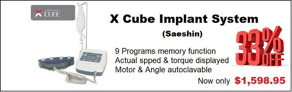 X-Cube Implant Motor System