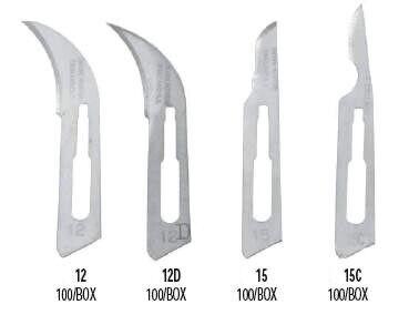 Sterile Carbon Steel Blades - Hu-Friedy