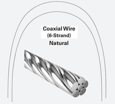 6 Strand Stainless Steel ArchWires