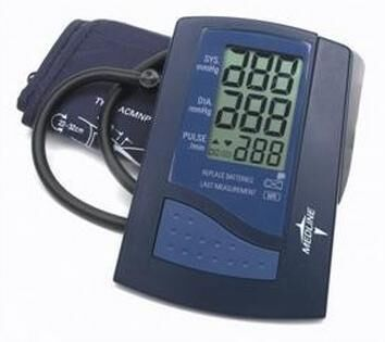 Automatic Digital Blood Pressure Monitor (Medline)