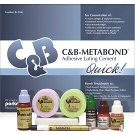 C & B Metabond Quick Adhesive Luting Cement (Parkell)