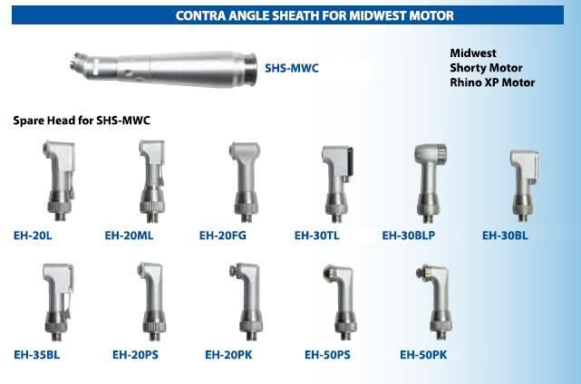 Contra Angle Sheath for Midwest Airmotor Type - Nakamura
