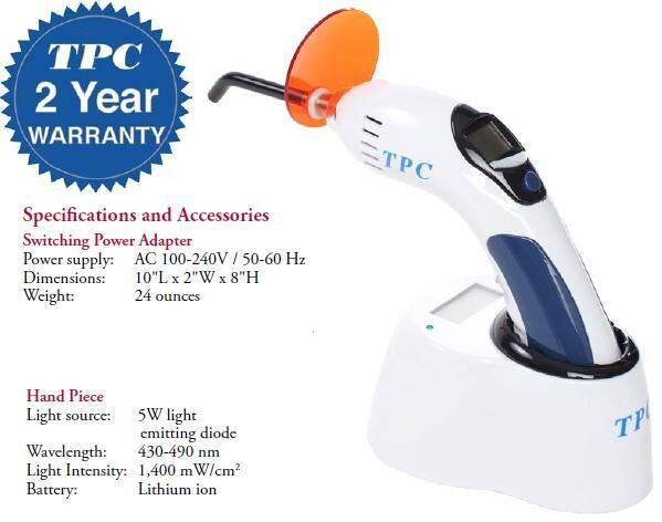 Cordless Curing Light System LED 60N (TPC)