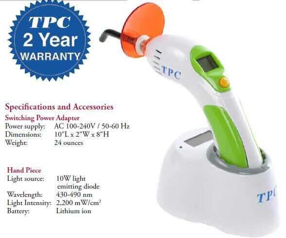 Cordless Curing Light System LED 70N (TPC)