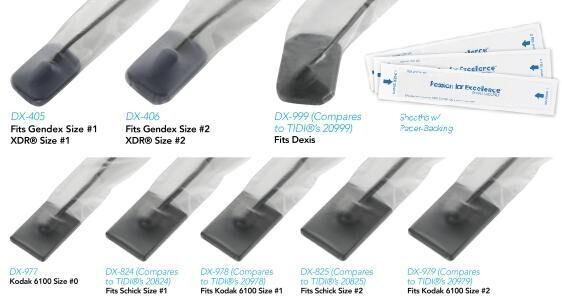 Digital Sensor Sheaths (Pac-Dent)