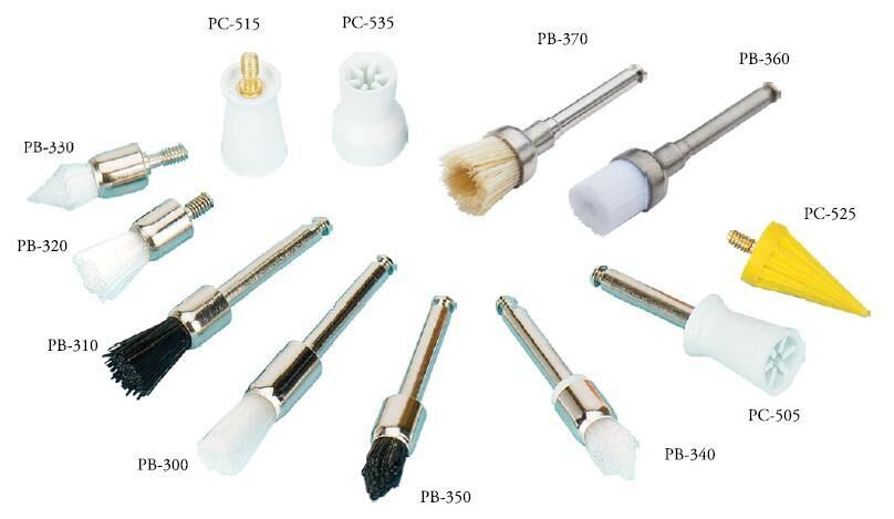 Disposable Prophy Cups & Brushes - TPC