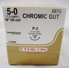 Ethilon Chrome Gut Sutures - Ethicon