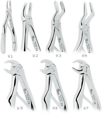 Extracting Forceps  For  Children With Non Slip Jaws - ASA Italy