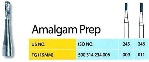 Amalgam Preparation Carbide Burs
