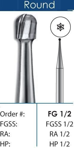 Round Carbide Burs