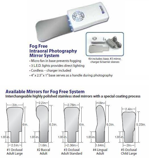 Fog Free Intraoral Photography Mirror System (Select Dental)