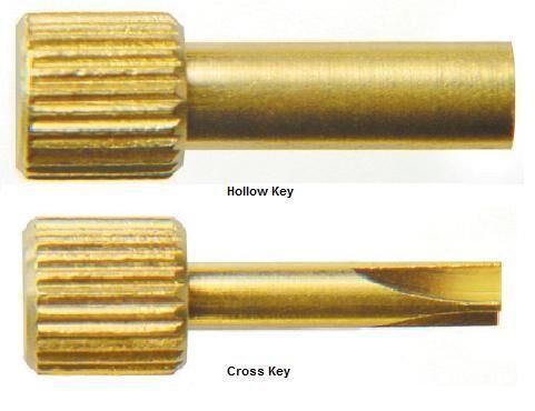 Keys for Screw Post (Nordin)