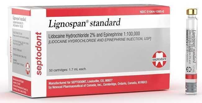 Lignospan (Septodont)