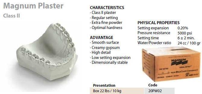 Magnum Plaster White Stone (MDC)