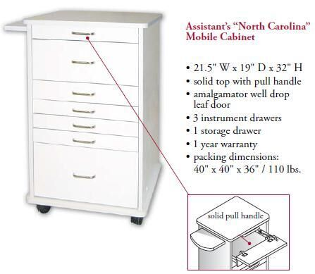 North Carolina Assistant's Mobile Cabinet - TPC