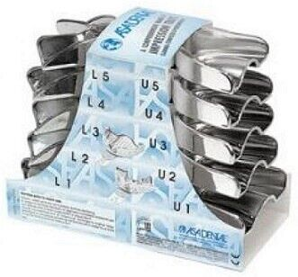 Stainless Steel Impression Trays - Solid - ASA
