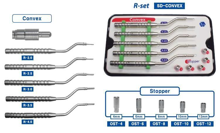Osteotome Concave R-Set