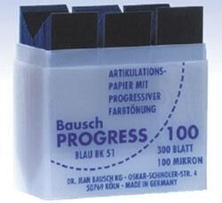 Progress 100 Articulating Paper - Bausch
