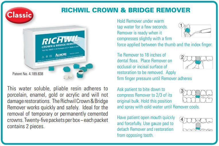 Richwil Crown and Bridge Remover (Almore)