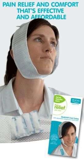 MediChill Cool Cubes Facial Trauma Ice Pack