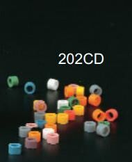 Small Color Code Rings Silicone