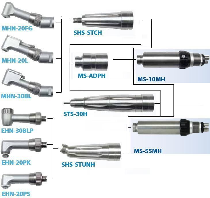 Star Titan Type Low Speed Handpieces (Nakamura)