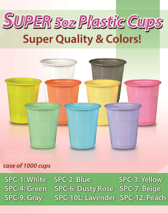 Super 5oz Plastic Drinking Cups