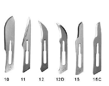 Surgical Stainless Steel Blades