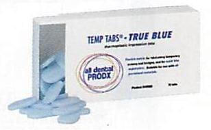 Temp Tabs - True Blue - All Dental Prodx