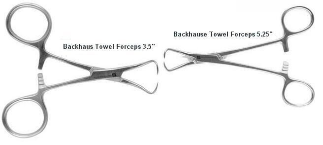 Towel Clamps - J & J Instrument