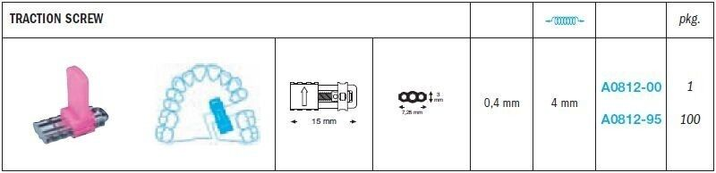 Traction Expansion Screws - Leone