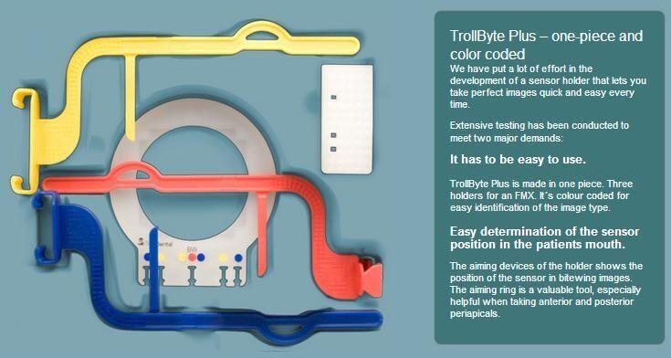 TrollByte Plus Sensor Holders Kit (Trolldental)