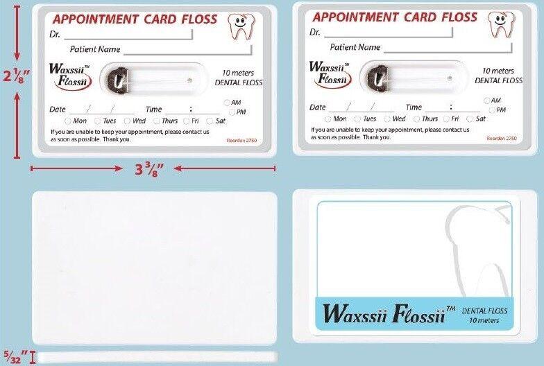 Appointment card floss dental supplies dental floss altavistaventures Images