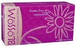 Vinyl Exam Gloves Powder Free (Blossom)