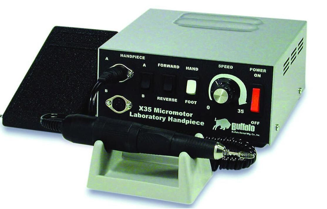 X35 Premium Electric Lab Handpiece System - Buffalo
