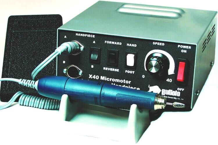 X40 Premium Electric Lab Handpiece System - Buffalo