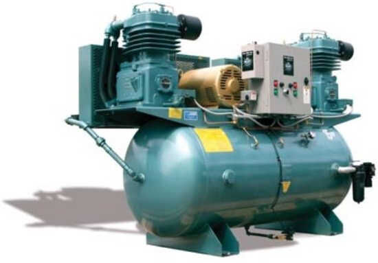 Large Facility Lubricated Air Compressors - Tech West