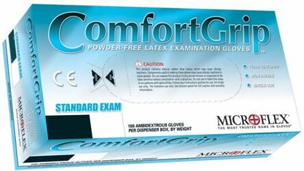 Comfortgrip Natural Rubber Latex Gloves (Microflex)