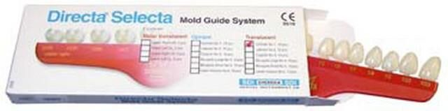 Polycarbonate Mold Guide Temporary Crowns (Directa)