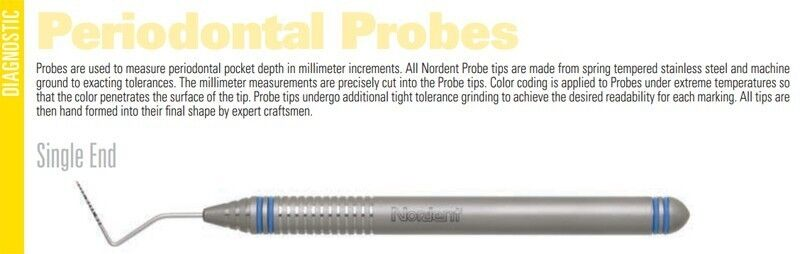 Probes - Single End - Nordent