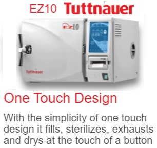 EZ 10 Automatic Autoclave -Sterilizer (Tuttnauer)