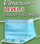 Ear-Loop Ultra Proof Face Masks Level 3 - Plasdent