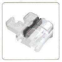 Resin Brackets with Metal Slot
