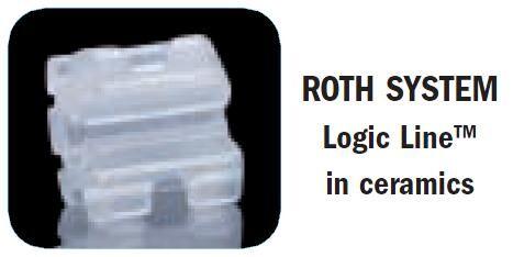 Logic Line Ceramic Brackets - Leone