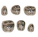 Stainless Steel First Primary Molar Crowns - DSC